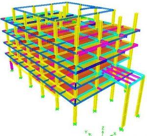 perhitungan konstruksi baja